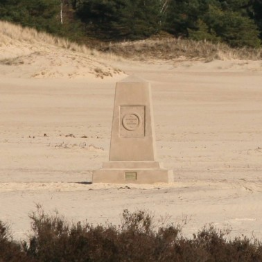 Monument de souvenir, in situ, Hulsthorsterzand, Veluwe, 2010